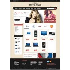 готовый Интернет магазин Брендовой одежды и аксессуаров